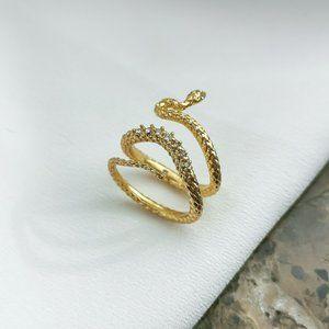 Kendra Scott Phoenix Wrap Ring In Vintage Gold 7